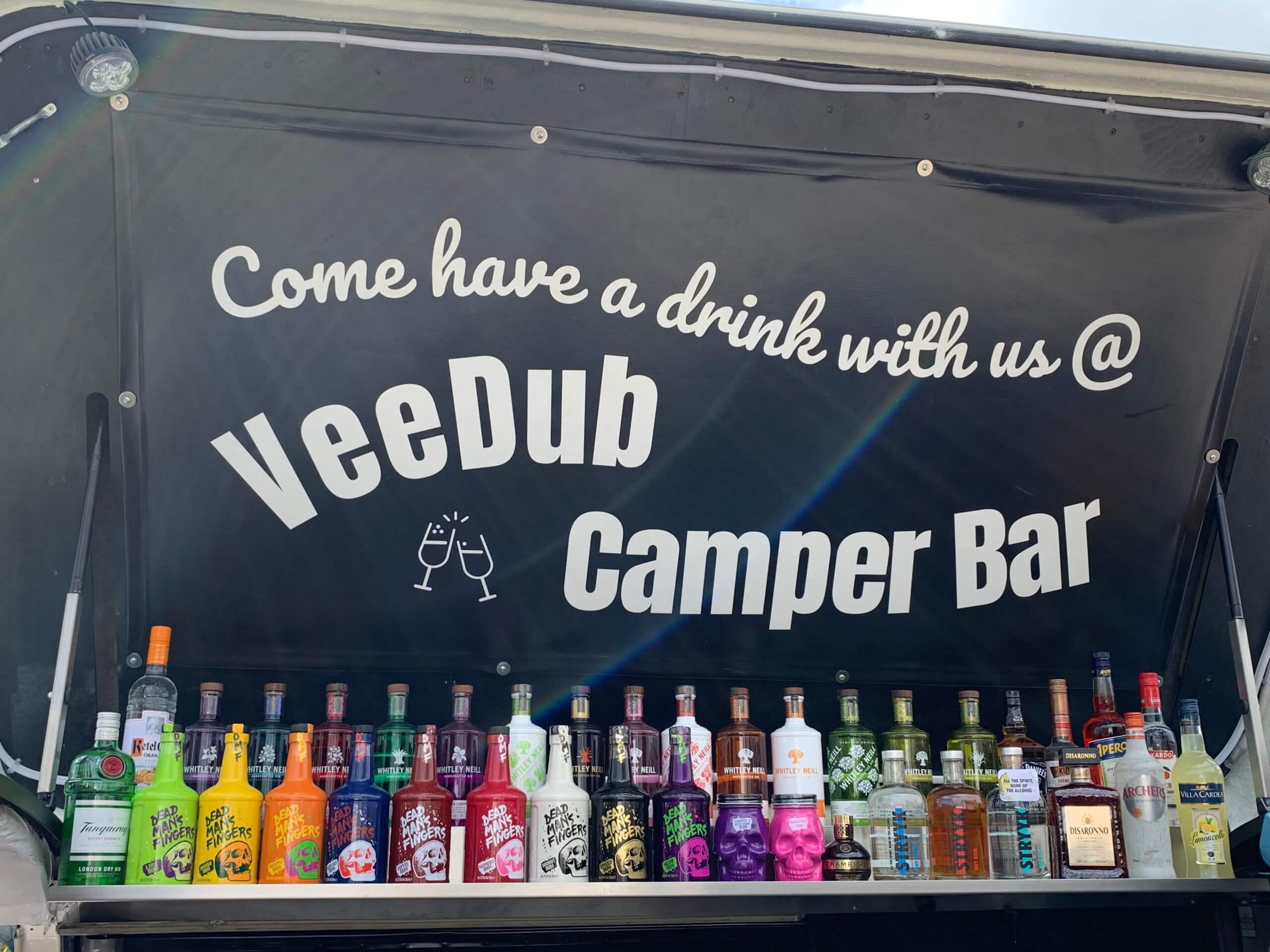 Mobile Bar Rum Gin Prosecco