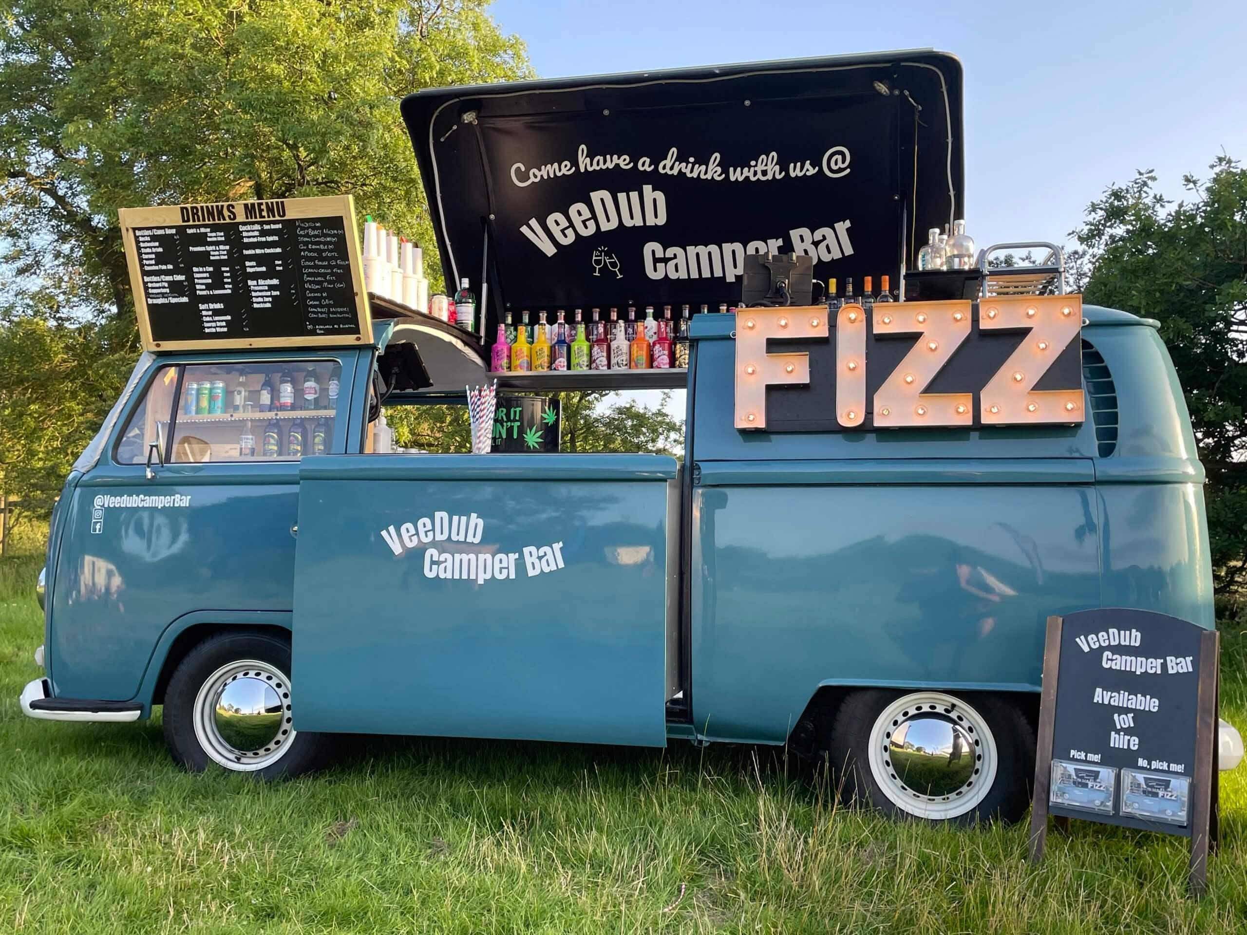 Festival Style Wedding - Mobile Bar